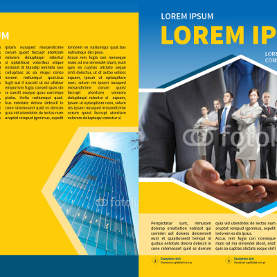Corporate Business Newsletter Template | Myindesign